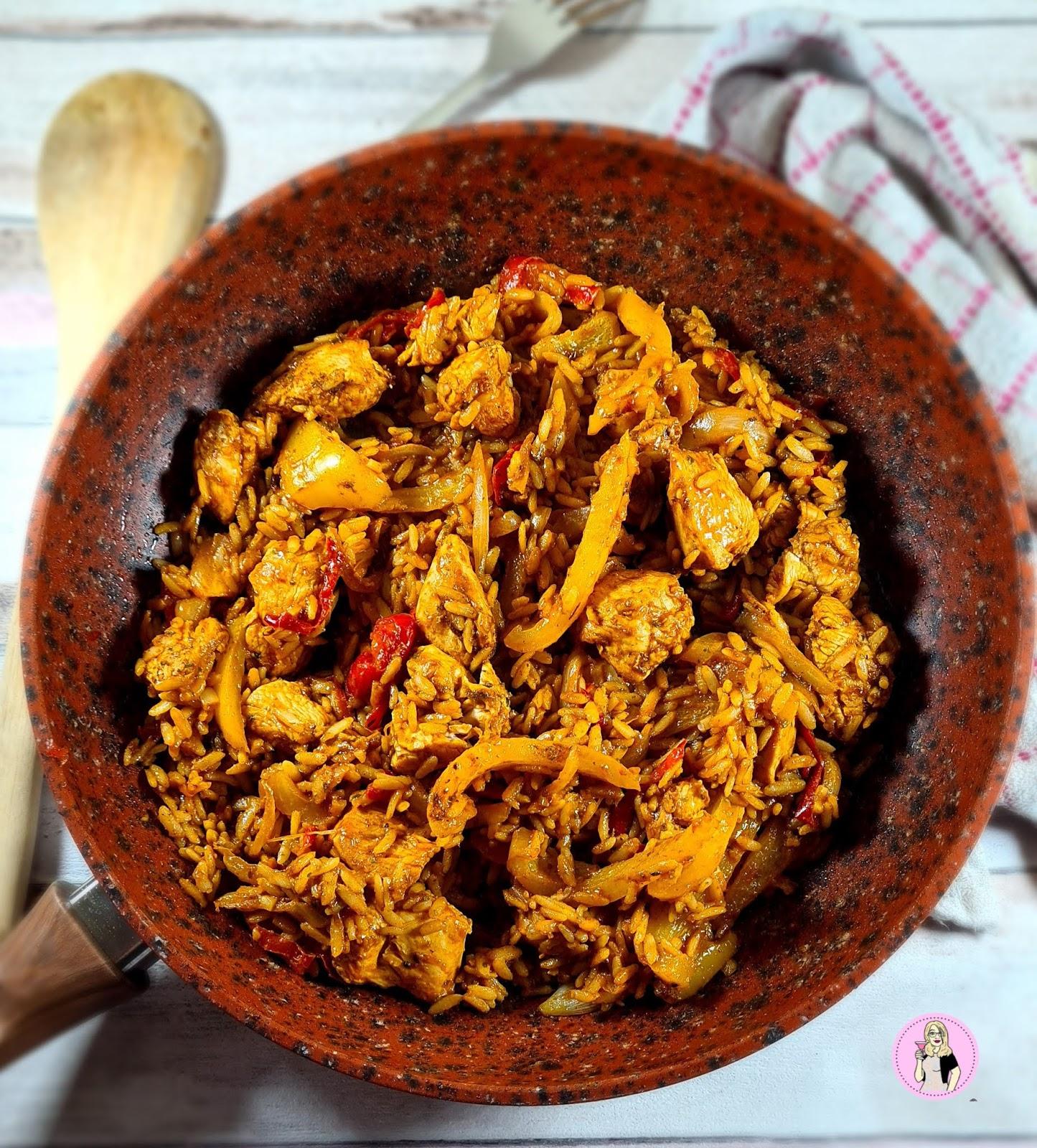 Chicken Tikka Rice Stir-fry | Slimming Friendly Recipe