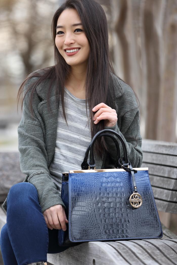 ombre handbag