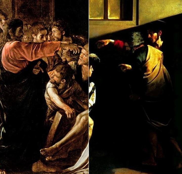 Follower of Canaletto Santa Croce Venice Stampa su tela Canvas effetto dipinto