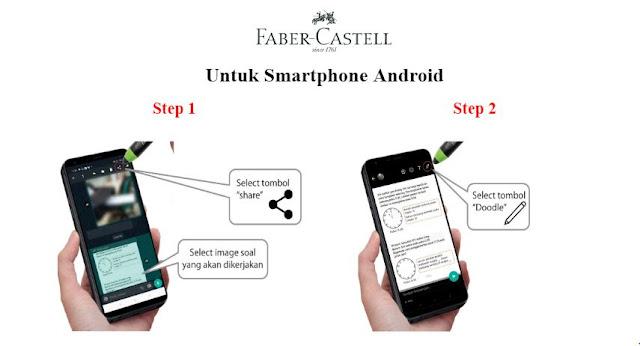 cara-menggunakan-paket-belajar-online-faber-castell-android