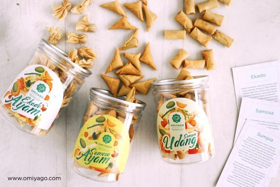 Sumpia ,Ekado dan Samosa ,produk UMKM. (sumber: www.omiyago.com)