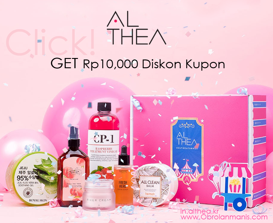 DISCOUNT CODE ALTHEA
