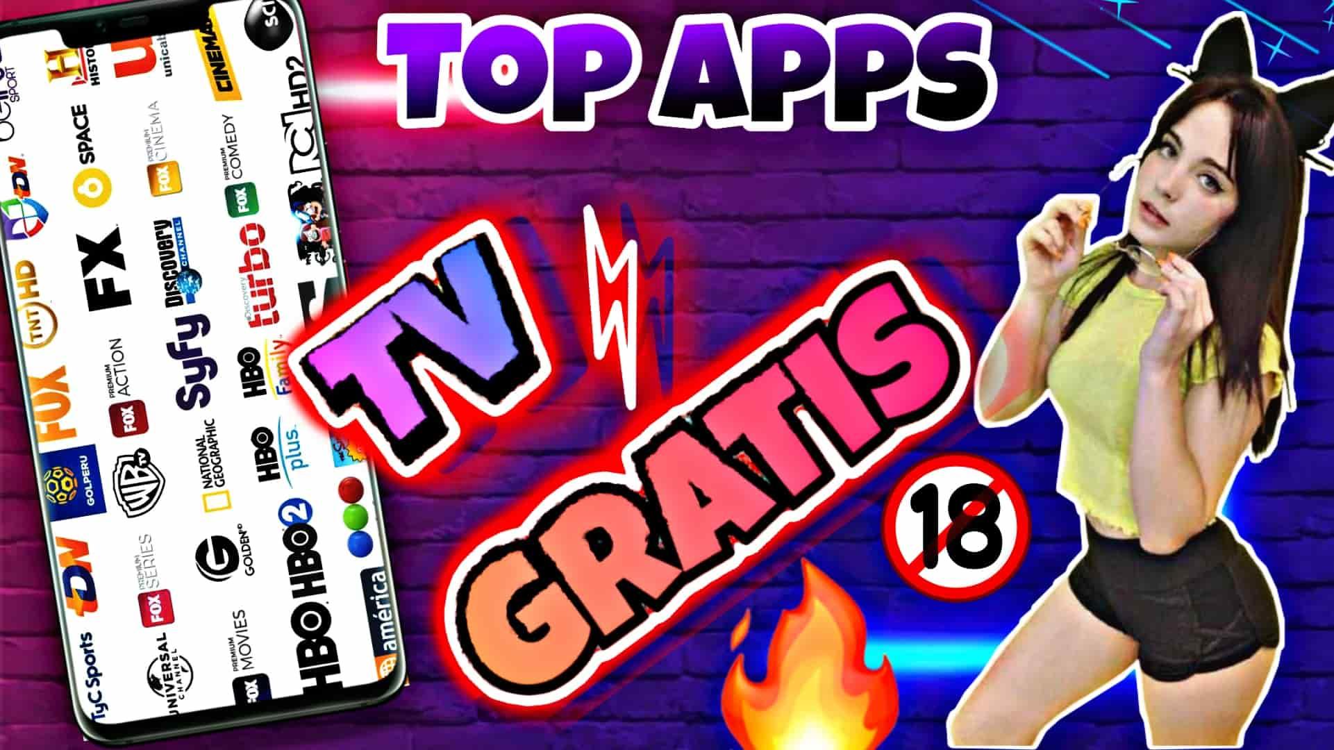 top apps para ver tv premium gratis en Android 2020