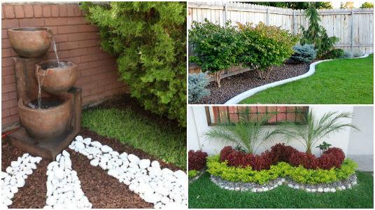 15 brillantes ideas para decorar jardines en patios - Decorar patios pequenos ...