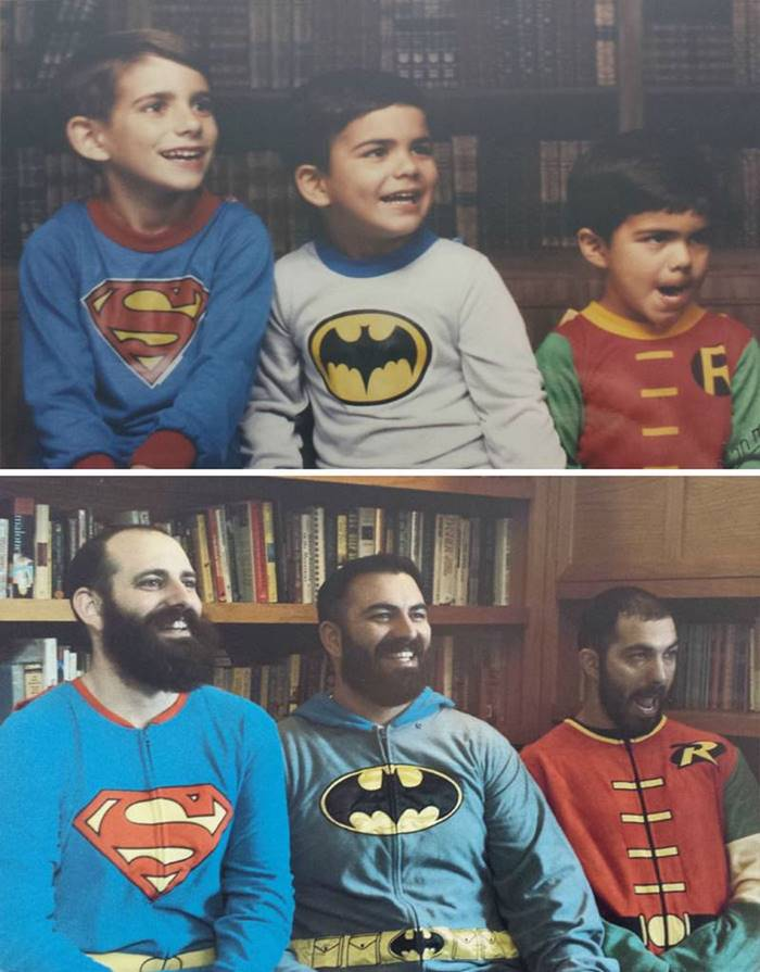 30 years later ... Now they have beards!