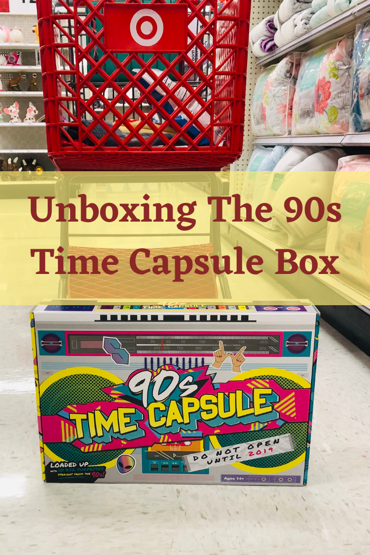 Airing My Laundry, One Post At A Time   : Unboxing The 90s