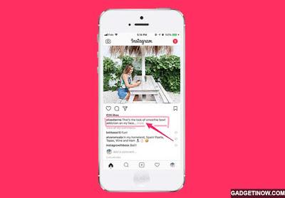 Cara Menyalin Caption dan Komentar di Postingan Instagram