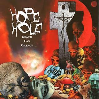 "HOPE HOLE debut album ""Death Can Change"""