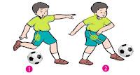 Latihan Tendang Bola