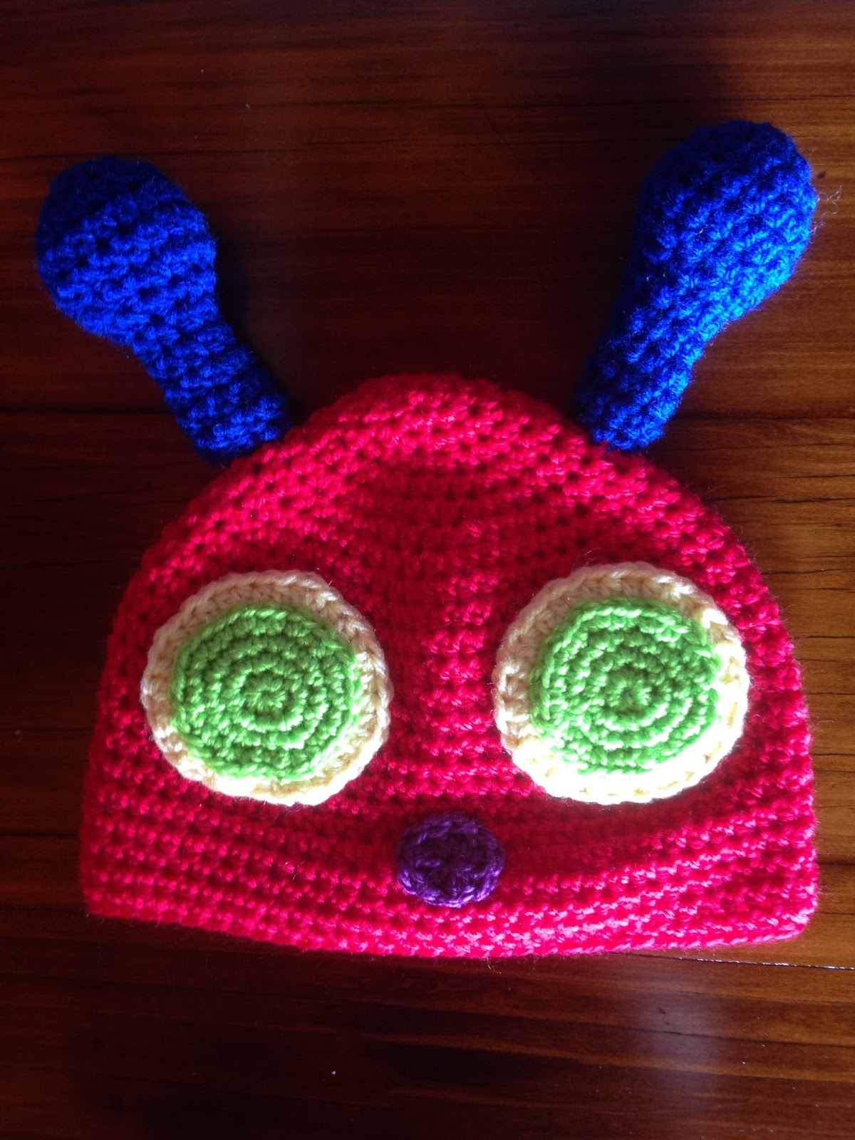 Crochet Obsession: Hungry Caterpillar Baby Cocoon and Hat crochet ...