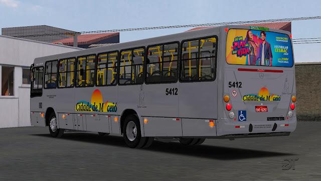 OMSI 2 - Pintura da Viação Cidade de Maceió para o Marcopolo Torino 2007 MB OF-1271 BT5