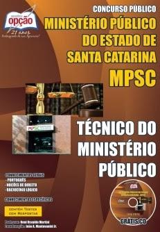 Apostila MP-SC Técnico do Ministério Público (SC)