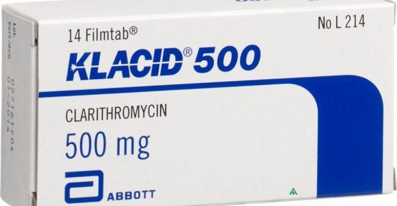 سعر ودواعى إستعمال دواء كلاسيد Klacid مضاد حيوى
