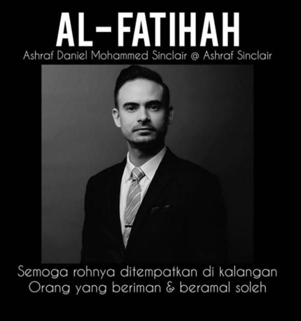AL-FATIHAH BUAT ARWAH ASHRAF SINCLAIR