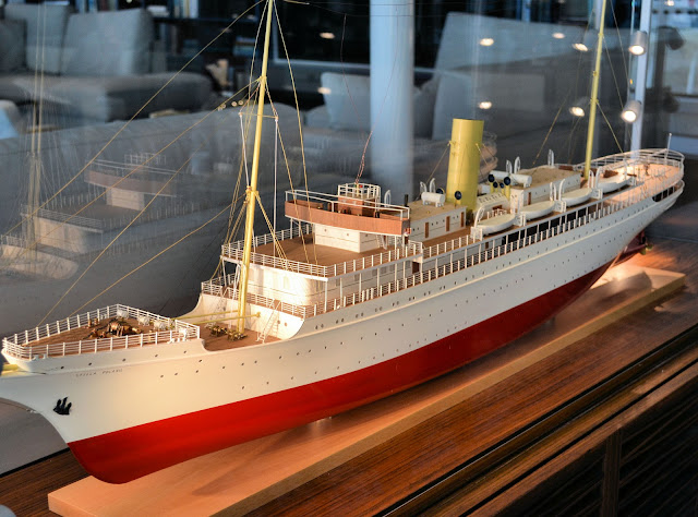 Tracing Torstein Hagen's heritage to its humble beginning at Berlin Line. Pictured here is the Stella Polaris, one of the line's first ships which made its debut in 1927.