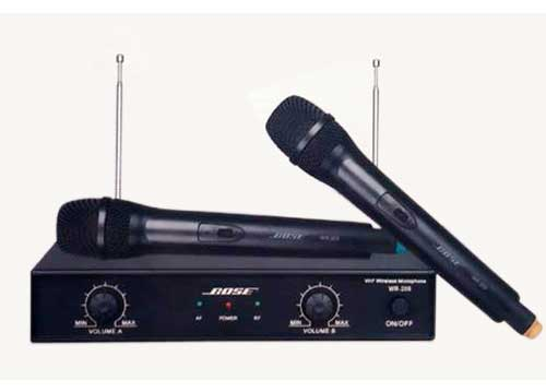 Micro không dây bose wr 208 của Dàn máy karaoke gia đình giá rẻ hát hay - D04