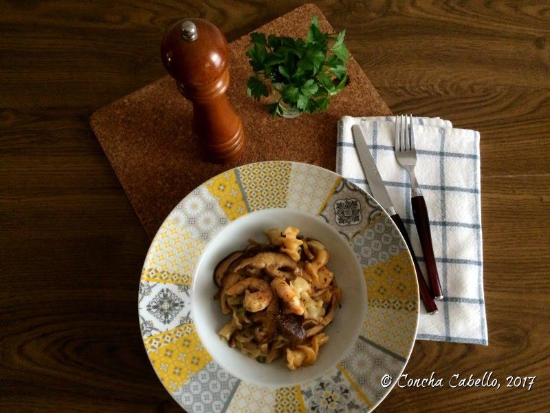 gigli-shiitake-mesa