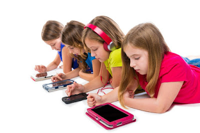 anak-anak dan smartphone