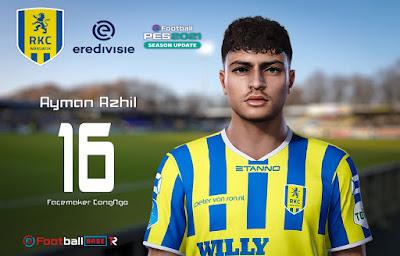 PES 2021 Faces Ayman Azhil by CongNgo