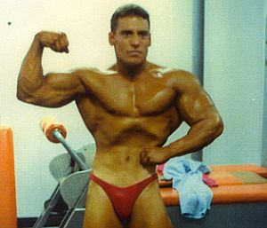#TEAMWOBB: Gregg Valentino before & after Steroids