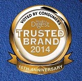 Readers Digest Trusted Brands