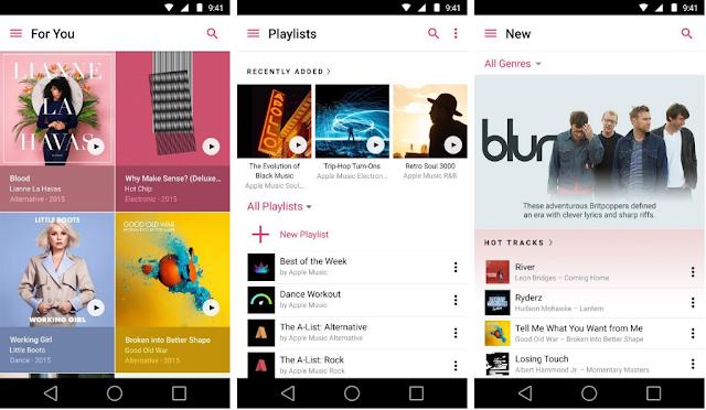 Apple Music Resmi Hadir di Android dengan Equalizer Settings dan Peningkatan Kinerja