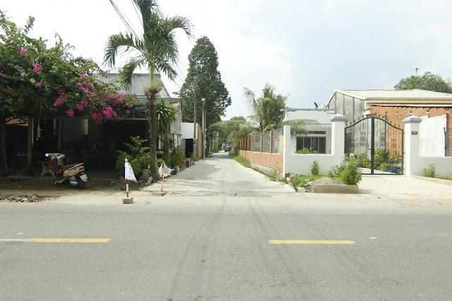 lối vào khu đất đẹp giá rẻ tại Xã Vĩnh Thanh