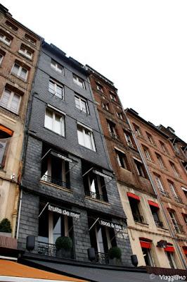 Le tipiche abitazioni di Honfleur