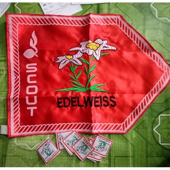 Jasa Konveksi Pembuatan Bendera Bordir & Sablon Gorontalo Terlaris