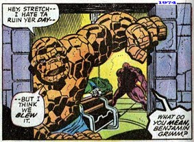 Fantastic Four 144 Attack Dr Doom