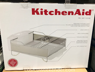 Make drying dishes easier with the KitchenAid Large Dish-Drying Rack