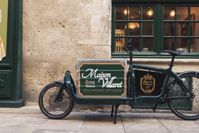 Maison Villaret à Nîmes : boulangerie