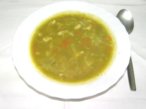 Sopa de Repolho