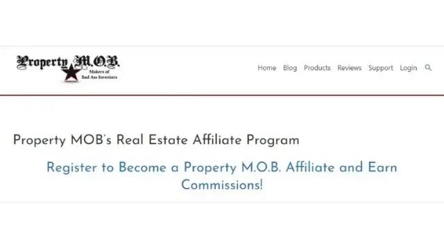 Property M.O.B affiliate program