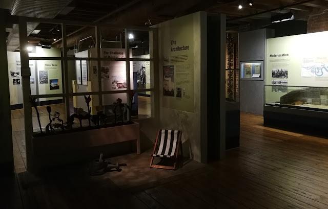 London 2017 - Museum of London Docklands - Modernisation
