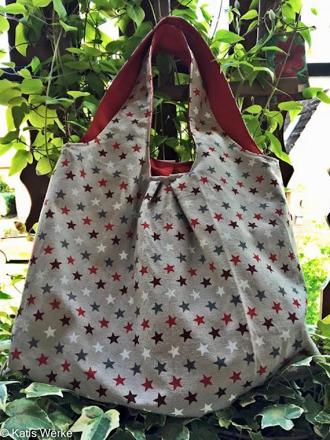 Eine tolle Tasche zum Einkaufen - genäht nach PattyDoo