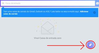 Como usar o Yahoo para enviar um e-mail no celular