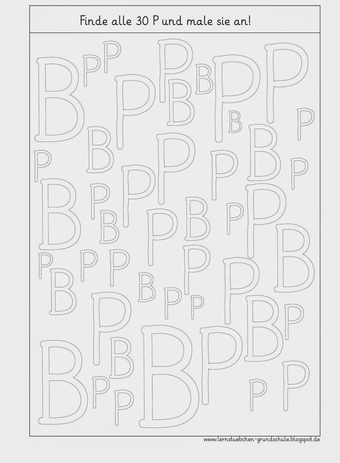 Lernstübchen: P - p optische Analyse