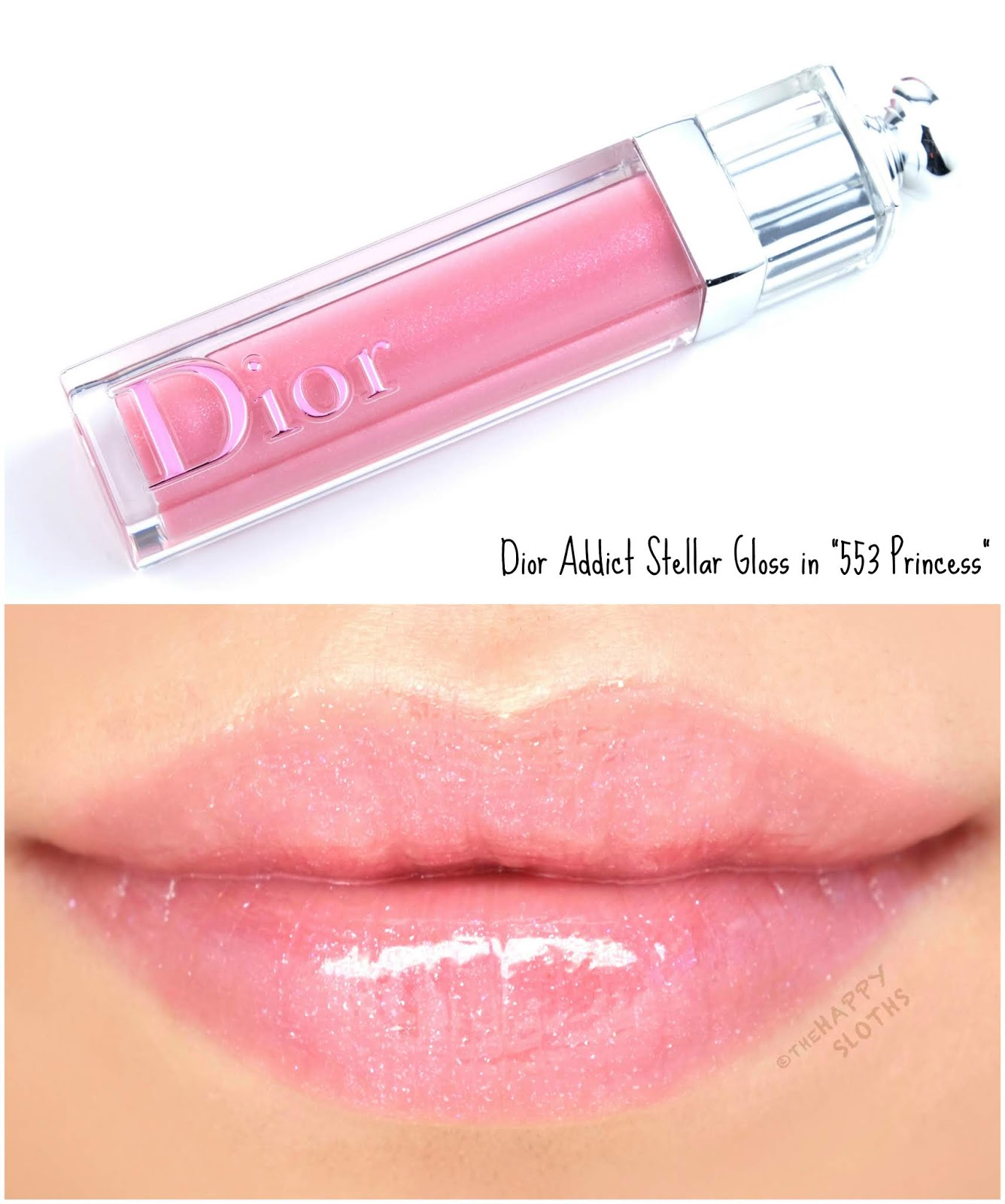 "Dior | Dior Addict Stellar Lip Gloss in ""553 Princess"": Review and Swatches"