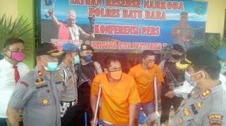 DOR!!  Dua Kurir Sabu Sindikat Antar Provinsi Ditembak Petugas