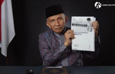 Amien Rais ke Jokowi: Begitu Limit Terlampaui, Anda Powerless Man, Bro!