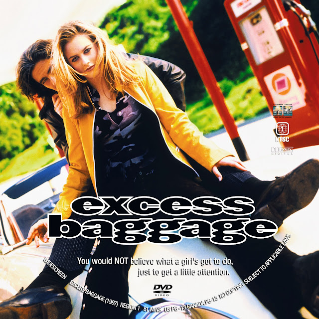 Excess Baggage DVD Label