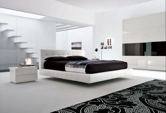 Love Creative Rooms Modern Black White Bedroom Design