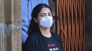 Judicial custody of Rhea Chakraborty extended till Oct 6