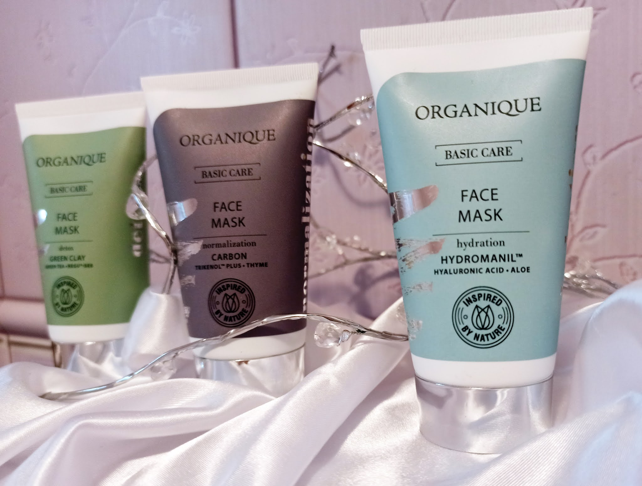 Nawilżająca maska do twarzy Basic Care Organique