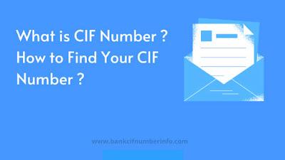 CIF number full-form