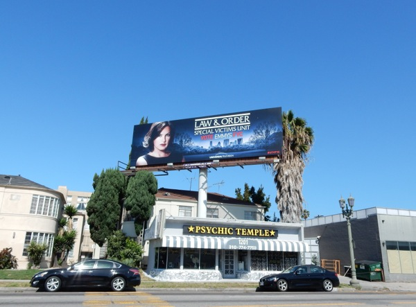Law and Order SVU 2015 Emmy billboard