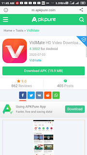 How To Download Facebook Video In Android, vidmate app download