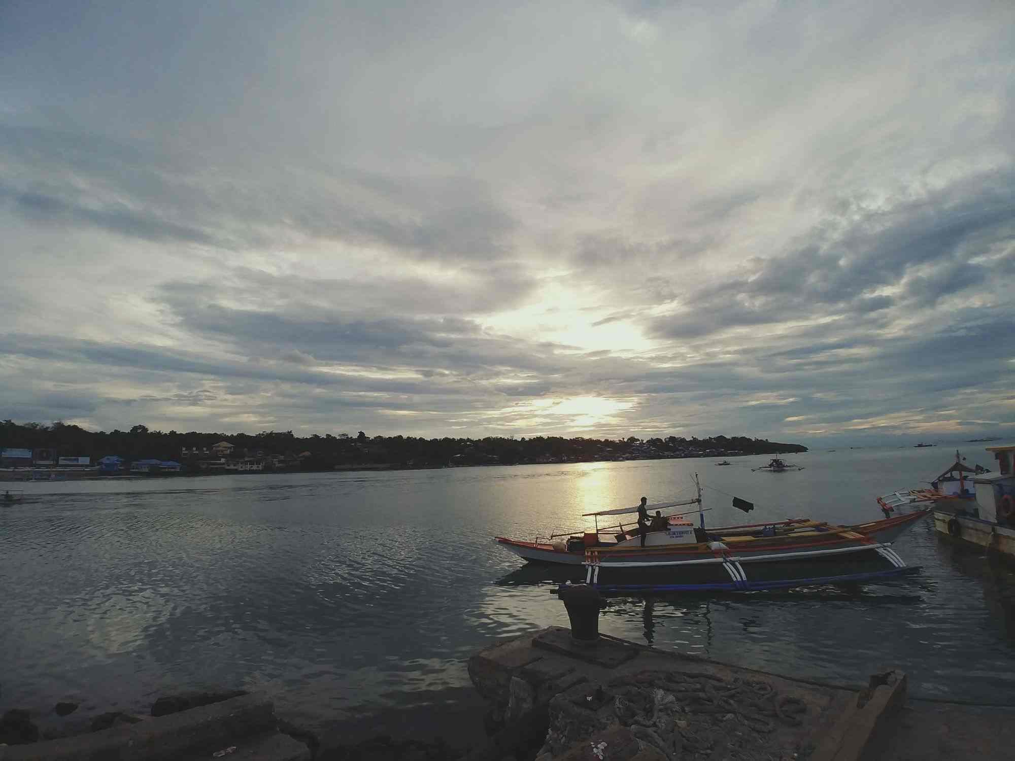 Boats in Panglao, Bohol