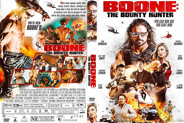 Boone: The Bounty Hunter DVD Cover